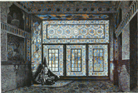 Salon of an Azerbaijani house in Shusha.png