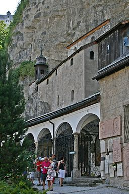 Salzburg Petersfriedhof Katakomben
