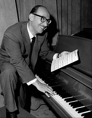 Songwriters Hall of Fame - Image: Sammy Cahn 1950s