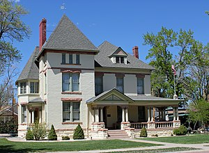 National Register of Historic Places listings in Fremont County, Colorado - Image: Samuel H. Atwater House