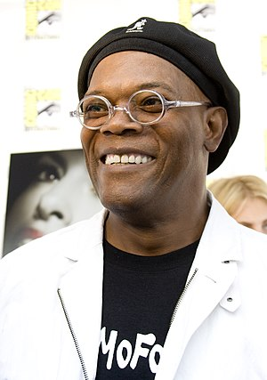 300px Samuel L Jackson at San Diego ComicCon 2008 Will the Black Hollywood Elite Support President Obama the Second Time Around?