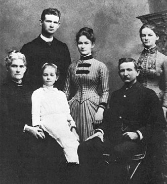 Samuel Thomas Alexander - With his family in the 1880s