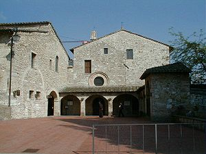 San Damiano, Assisi - External view of San Damiano complex.