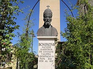 Pope Boniface IV - Papa Bonifacio IV