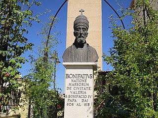 Pope Boniface IV pope