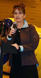 Palin at Alaska Airmen's Trade Show in Anchorage, Alaska (2008-05-10)
