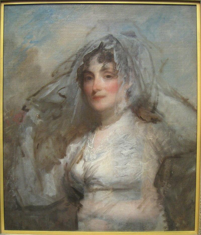 Сара Вентворт Эпторп, миссис Перес Мортон, около 1802 года, Гилберт Стюарт (1755-1828) - Художественный музей Вустера - IMG 7688.JPG