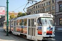 Sarajevo Tram-217 Line-3 2011-10-31 (2).jpg