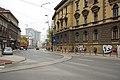 Sarajevo Tram-Stop Skenderija-Terminus 2011-10-28 (2).jpg