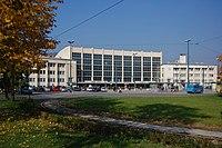 Sarajevo Tram-Stop Zeljeznicka-Stanica 2011-10-31.jpg
