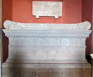 Sarcophagus of Lucius Cornelius Scipio Barbatus - Sarcophagus of Scipio Barabatus