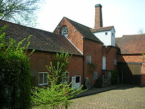 Sarehole Mill in Birmingham, England.