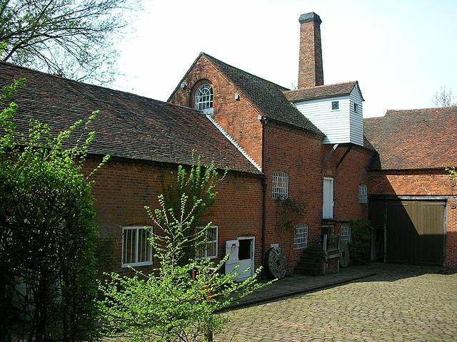 Sarehole Mill, Hall Green, Birmingham.