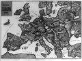 Satyrische Europa Karte Weltkrieg 1914 - Zeichnung v. Entwurf, E. Zimmermann, Hamburg, 6. LCCN2009631644.tif