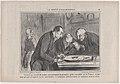 Savants au comble de la joie en contemplant le premier petit crocodile né e France..., from La Société d'Acclimatations, published in Le Charivari, October 23, 1858 MET DP876717.jpg