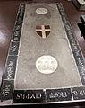 Scavi di santa reparata sotto il duomo di firenze, lastra tombale di fra nicola squarcialupi, cavaliere gerosolimitano, 1313, 01.JPG