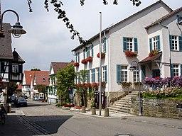 Schloßstraße in Ditzingen