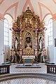 Schwarzenberg, Klosterdorf 1, Kath. Klosterkirche Mariae Geburt Scheinfeld 20180719 006.jpg