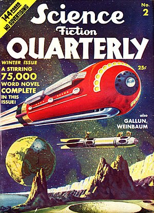 Otto Willi Gail - Gail's 1925 novel The Shot into Infinity was reprinted in the Winter 1940 issue of Science Fiction Quarterly