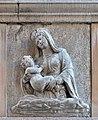 Scola degli Albanesi rilievo madonna bambino facciata Venezia.jpg