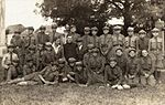 Scout troop in Kletsk, Belarus 1934.jpg