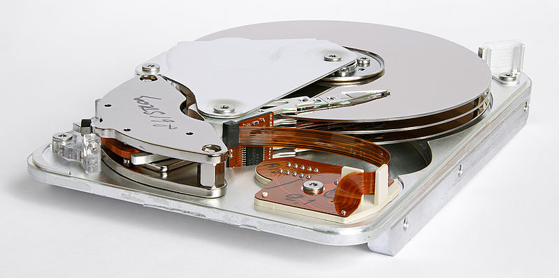 File:Seagate ST33232A hard disk inner view.jpg