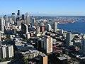 Seattle, Washington from the Space Needle ~ Сиэтл, штат Вашингтон из космического Игла - panoramio.jpg