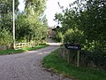 Secluded drive to Caegweision Farm - geograph.org.uk - 532779.jpg