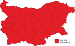 Second round of 2016 Bulgarian presidential election map.png