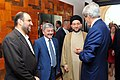 Secretary Kerry Chats With Islamic Supreme Council of Iraq Leader Hakim, Other Officials in Baghdad (14487977302).jpg