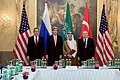 Secretary Kerry Meets With Turkish Foreign Minister Sinirlioglu, Saudi Foreign Minister al-Jubeir, and Russian Foreign Minister Lavrov Before Quadrilateral Meeting in Austria Focused on Syria (22580971515).jpg