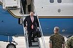 Secretary Pompeo Arrives at MacDill Air Force Base (48085060391).jpg