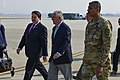 Secretary of State lands at Osan 170317-F-AM292-396.jpg