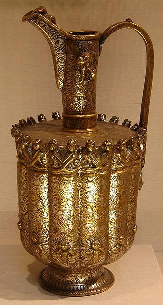 Seljuk Empire - Image: Seljuq Ewer