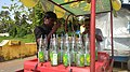 Seller of traditional 'soda' drinks at Saligao, Goa in India. 2.jpg