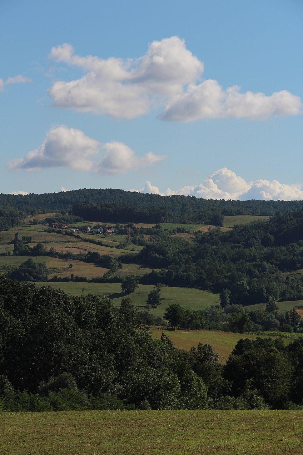 Selo Beomužević - opština Valjevo - zapadna Srbija - Panorama 16