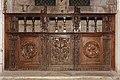 Semur en Auxois-Collégiale Notre Dame-Clôture de la Chapelle Saint Cyr-20110304.jpg