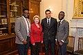 Senator Stabenow meets with representatives of Western Michigan University (33441860465).jpg
