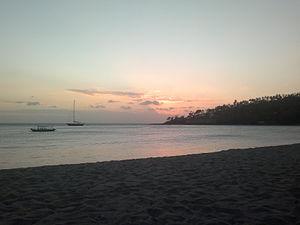 Senggigi - Senggigi beach.