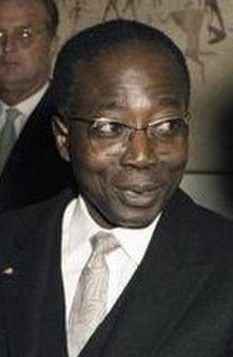 Francophone literature - Léopold Sédar Senghor a prominent Francophone writer and politician. Senghor was the first African elected as a member of the Académie française.