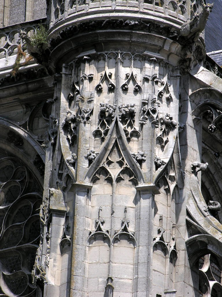 Senlis Cathedrale Transsept Detail