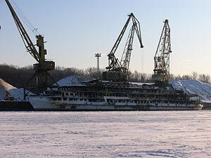 Sergey Abramov in North River Port 31-jan-2012 01.JPG