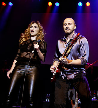 Sertab Erener - Erener and Demir Demirkan released the album Painted On Water in 2009