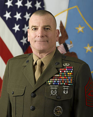 Bryan B. Battaglia - Image: Sgt Maj Bryan Battaglia, Senior Enlisted Advisor to the Chairman of the Joint Chiefs of Staff