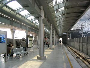 South Shanghai Railway Station (Metro) - Image: Shanghai South Railway Station Line 3