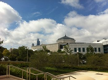 English: The Shedd Aquarium in Chicago, viewed...