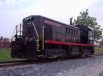 Shenandoah Valley Railroad (short-line) - Image: Shenandoah Valley Railroad SV8701 loco