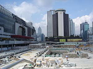 History of the People's Republic of China (1989–2002) - Construction work in Shenzhen, considered a powerful symbol of Deng's reformist legacy