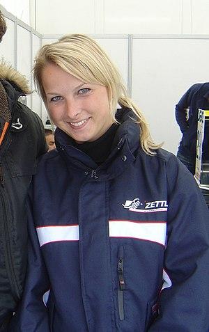 Shirley van der Lof - Van der Lof in 2009.
