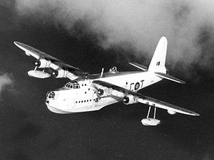 Short Sunderland - Short Sunderland Mk V in flight